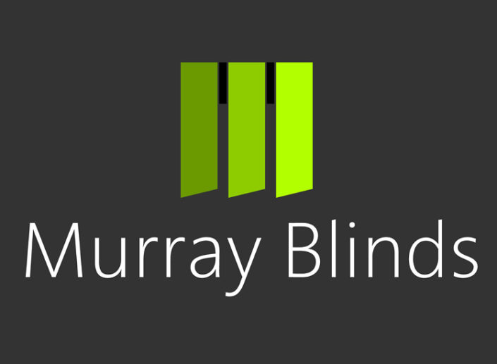 Logo, stationery, vehicle livery and website for blinds company Murray Blinds