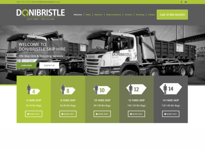Donibristle: Skip Hire & Recycling Company