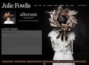 Website for Scottish singer Julie Fowlis