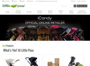 Online Store for nursery retailer Little Peas