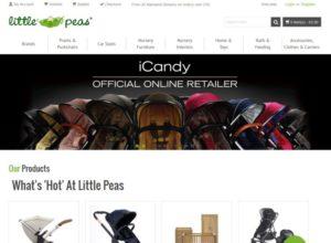 Online Store for nursery retailer Little Peas