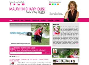 Website for Life Coach Maureen Sharphouse