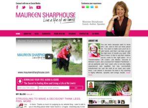 Website for Life Coach Maureen Sharphouse
